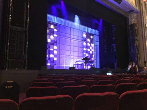 Hollywood Pantages Theatre, section: OrchLC, row: H, seat: 312