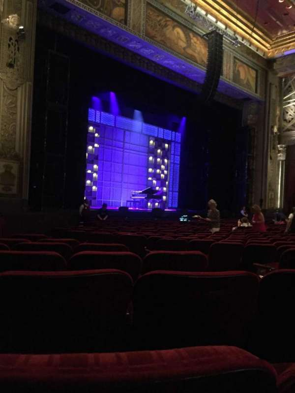 Hollywood Pantages Theatre, section: Orchestra L, row: S, seat: 9