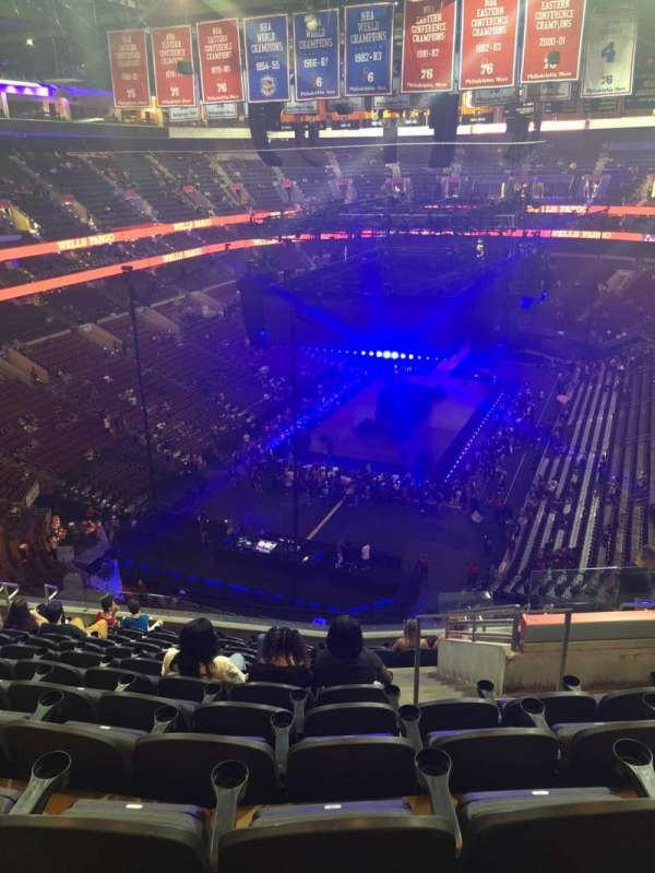Wells Fargo Center, section: 208, row: 12, seat: 15
