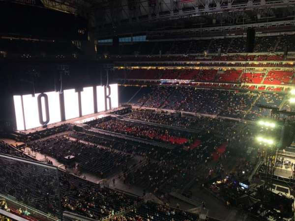 NRG Stadium, section: 504, row: H, seat: 25