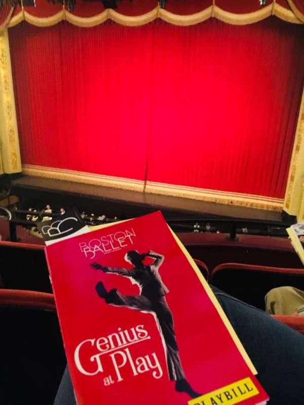 Boston Opera House, section: Dress Circle Center Right, row: CC, seat: 14