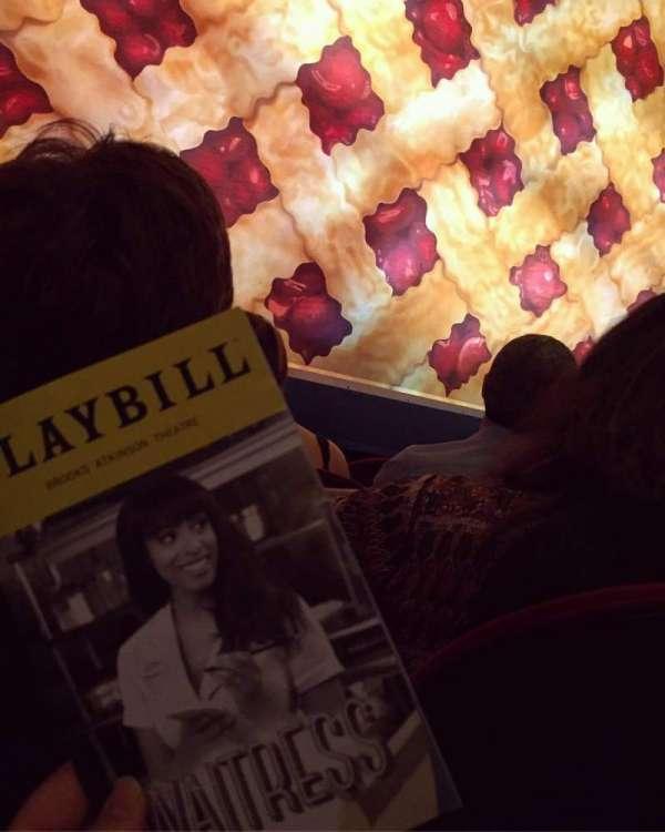Brooks Atkinson Theatre, section: Orchestra C, row: B, seat: 102