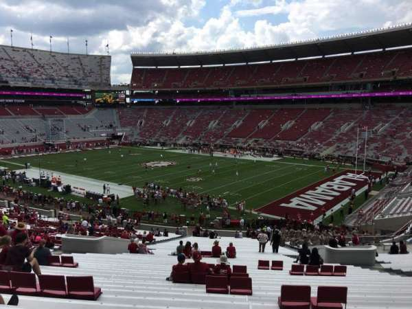 Bryant-Denny Stadium, section: MM, row: 56, seat: 15