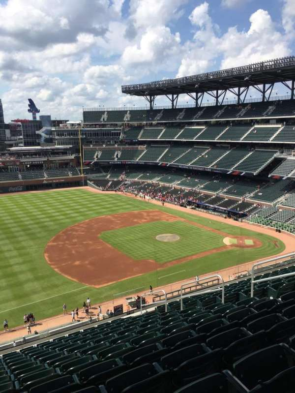 Truist Park, section: 337, row: 13, seat: 9