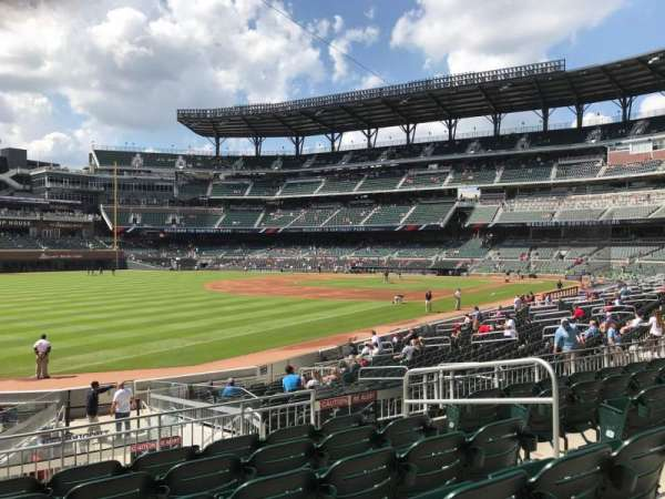 SunTrust Park, section: 141, row: 6, seat: 6
