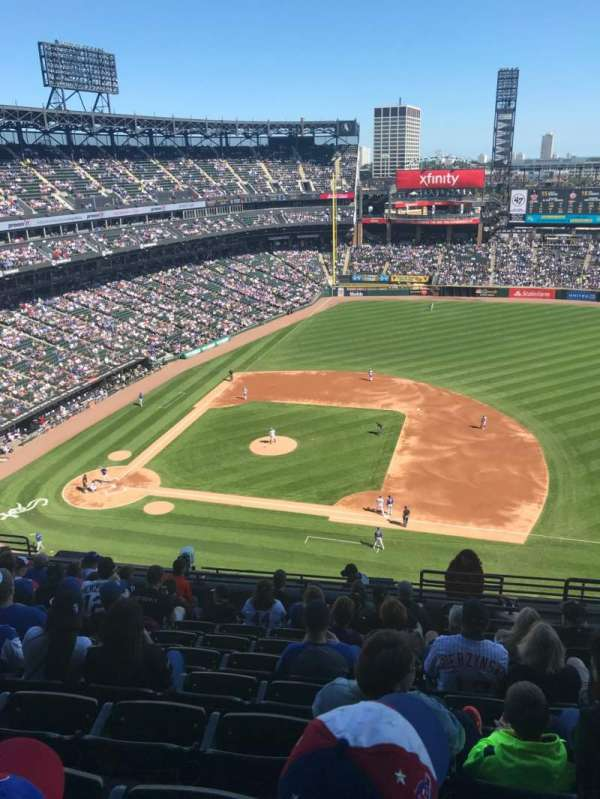 Guaranteed Rate Field, section: 524, row: 13, seat: 4