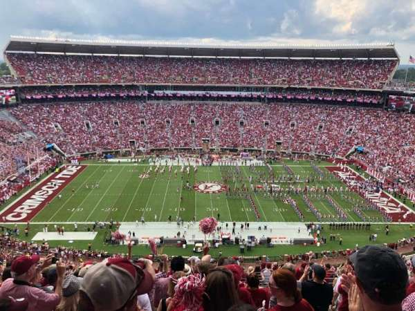 Bryant-Denny Stadium, section: HH, row: 21, seat: 9