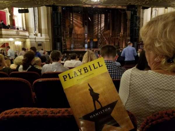 Boston Opera House, section: Orchestra Left Center, row: U, seat: 13