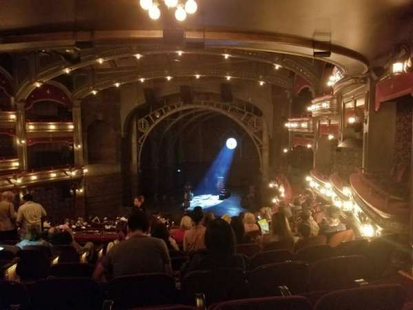 Lyric Theatre, section: Dress Circle R, row: K, seat: 12