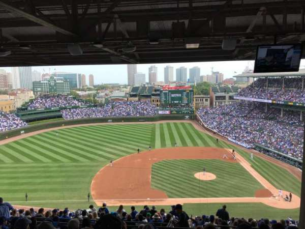 Wrigley Field, section: 514, row: 8, seat: 108