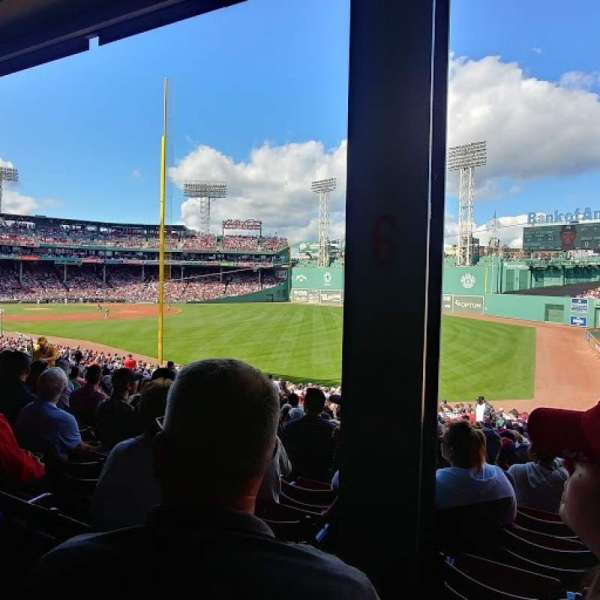 Fenway Park, section: Grandstand 6, row: 3, seat: 5
