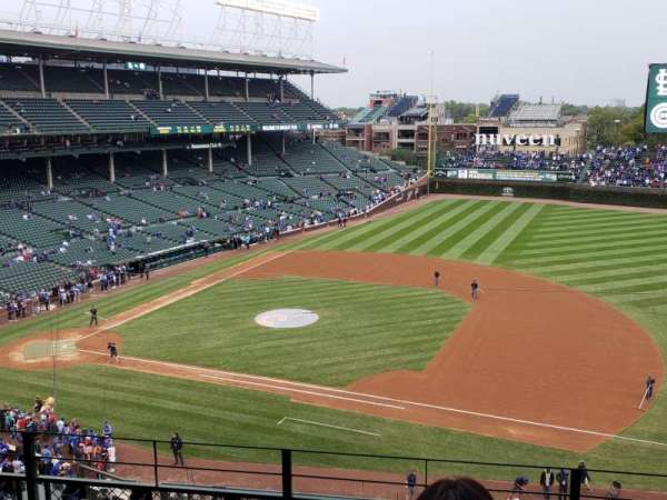 Wrigley Field , section: 431, row: 5, seat: 111 and 112