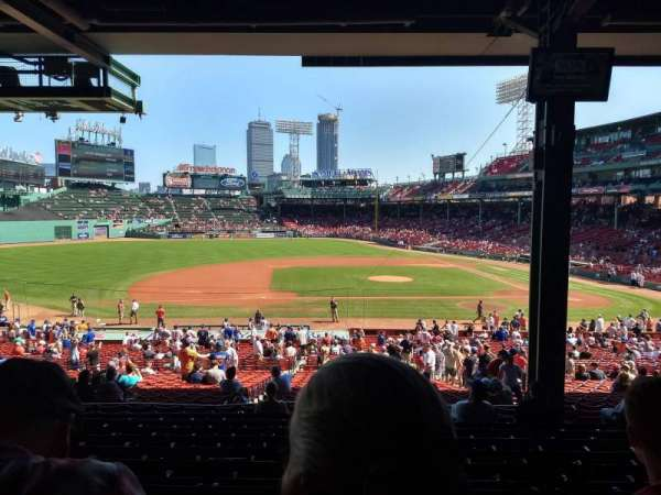 Fenway Park, section: Grandstand 26, row: 11, seat: 8