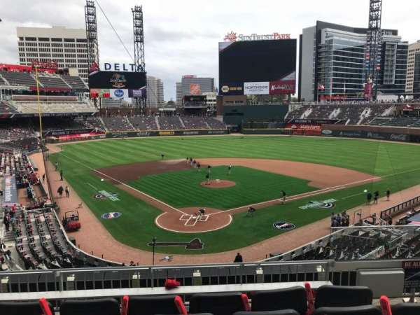 SunTrust Park, section: 225, row: 5, seat: 3