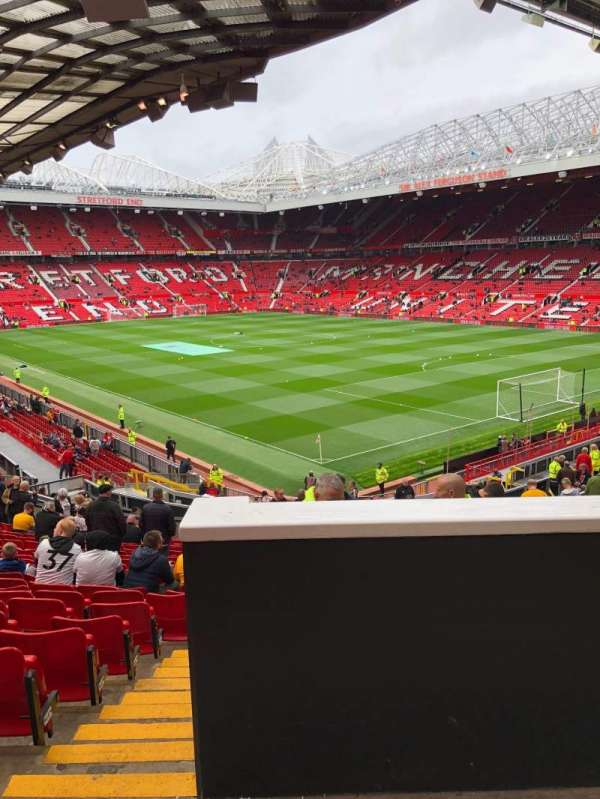 Old Trafford, section: E321, row: 23, seat: 45