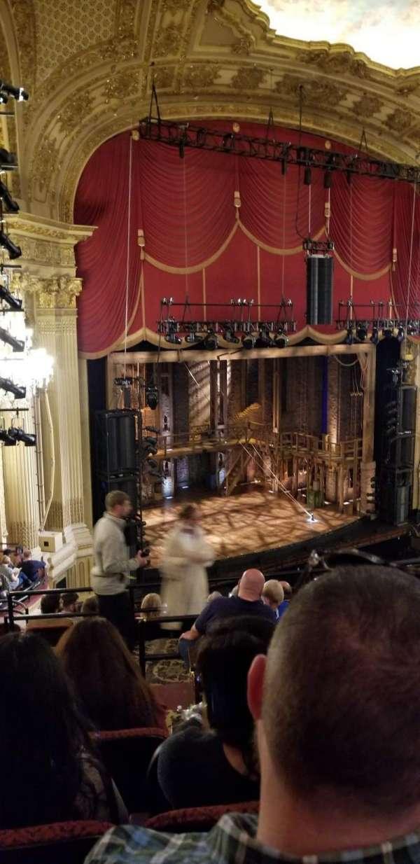 Boston Opera House, section: Mezzanine Left, row: G, seat: 35