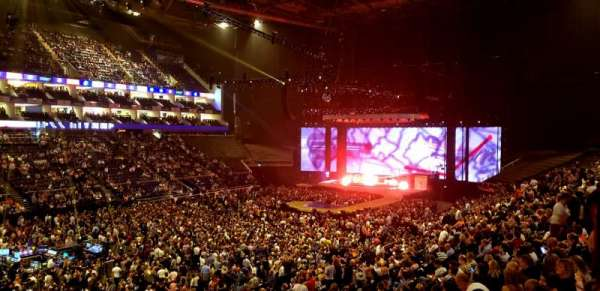 The O2 Arena, section: 109, row: ZZ, seat: 101