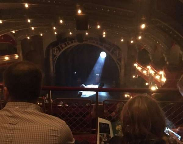 Lyric Theatre, section: Balcony, row: D, seat: 18