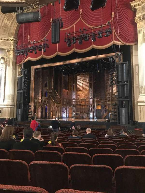 Boston opera house, section: Orchestra R, row: N, seat: 22
