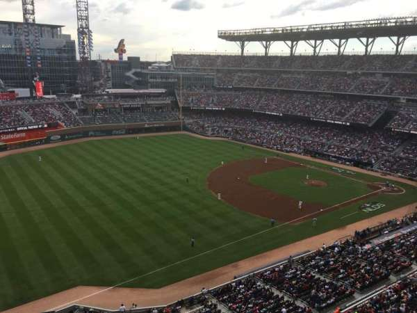 SunTrust Park, section: 440, row: 1, seat: 11