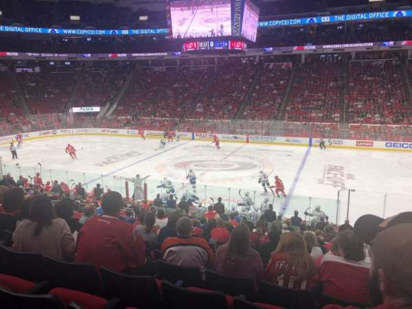 PNC Arena, section: 103, row: W