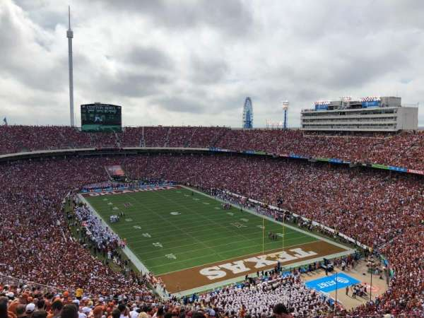 Cotton Bowl, section: 120, row: 32, seat: 7