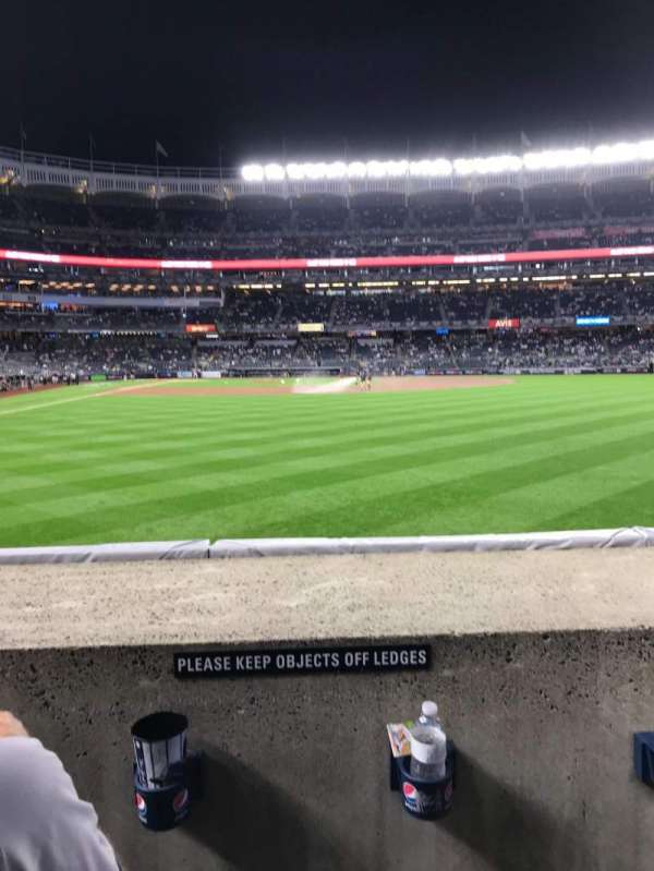 Yankee Stadium, section: 105, row: 2, seat: 17 - 18