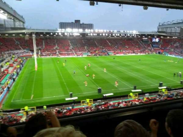 Old Trafford, section: N3401, row: 3, seat: 219
