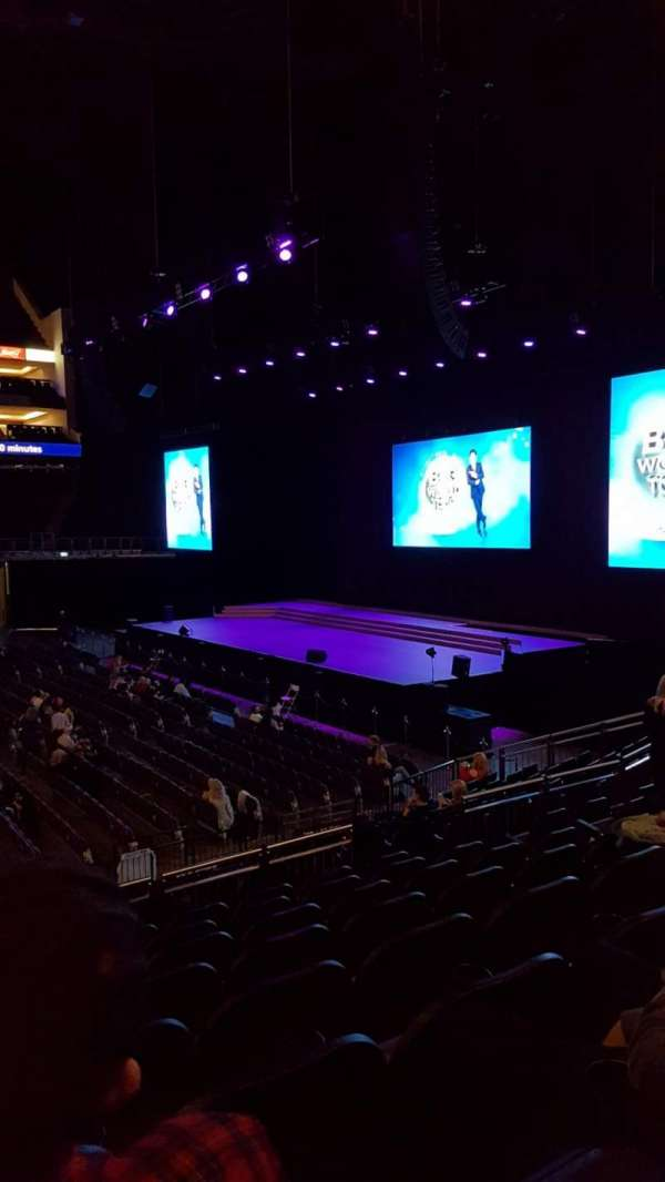 The O2 Arena, section: 112, row: Q, seat: 370
