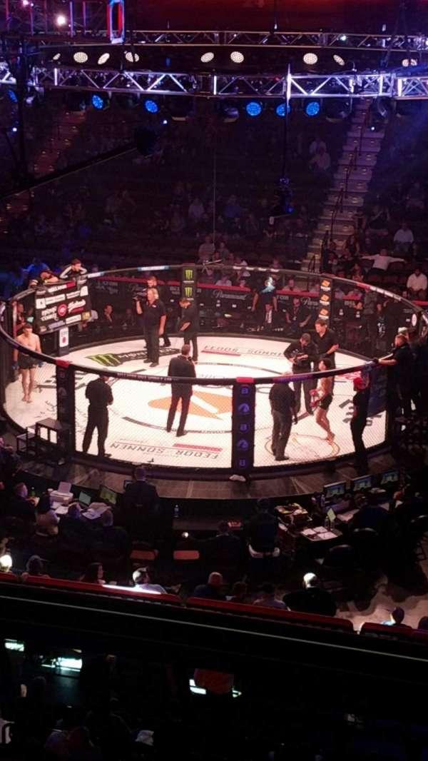 Mohegan Sun Arena , section: 106, row: B, seat: 9