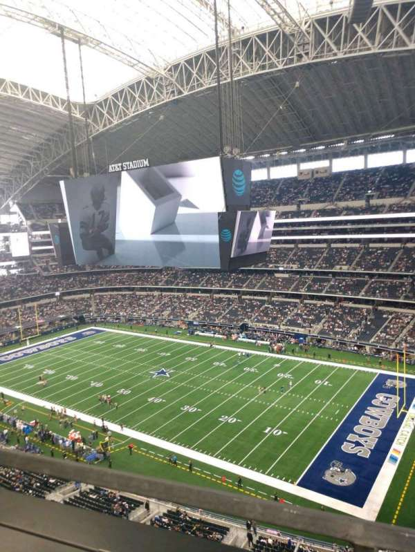 AT&T Stadium, section: 407, row: 1, seat: 1