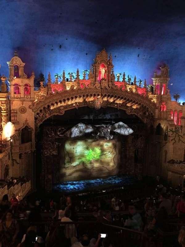 Majestic Theatre - San Antonio, section: mezzanine lc, row: HH, seat: 14