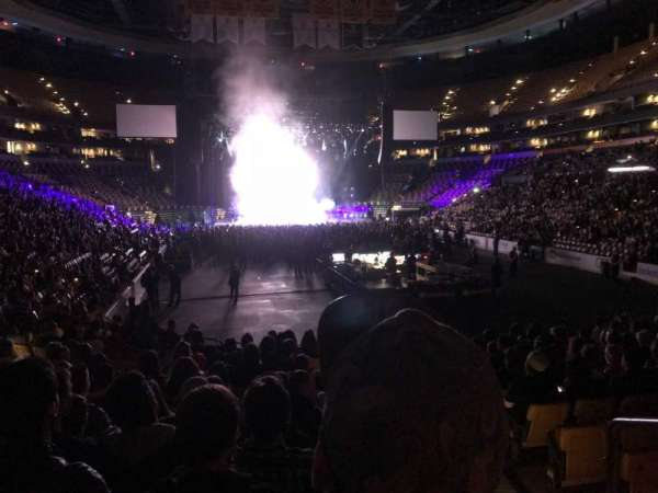 TD garden, section: 8, row: 14, seat: 1