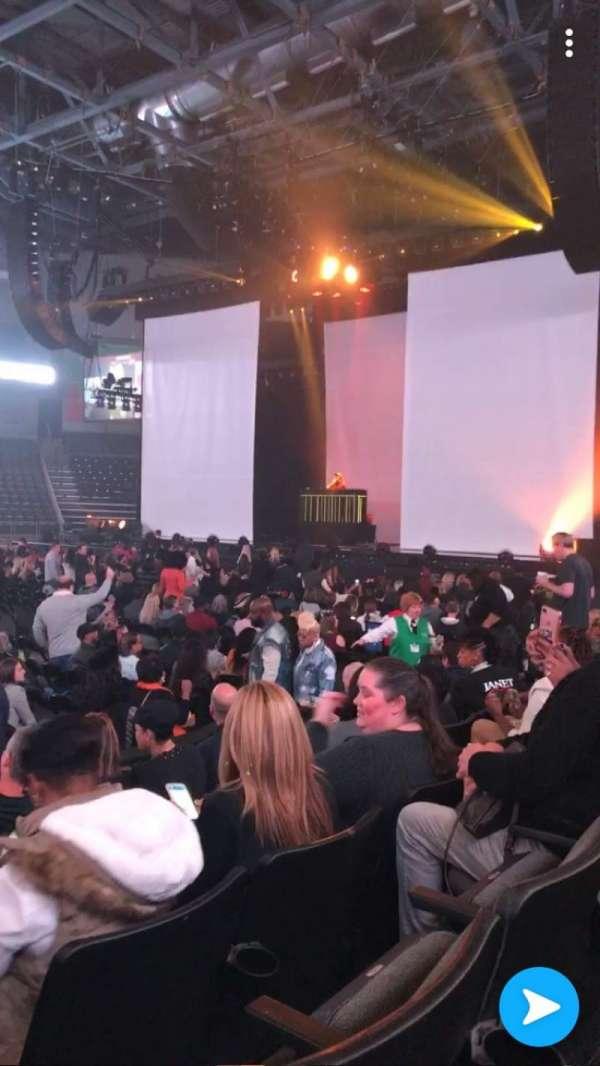 Huntington Center, section: 117, row: D