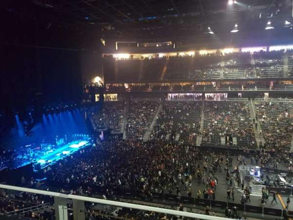 T-Mobile Arena, section: 205, row: A, seat: 19