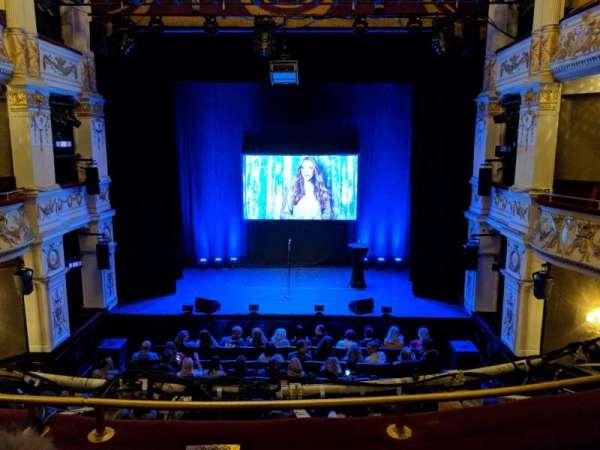 Garrick Theatre, section: Dress Circle, row: B, seat: 13