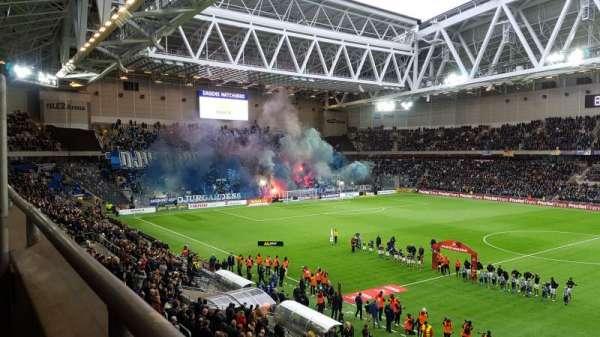 Tele2 Arena, section: B328, row: 1, seat: 354