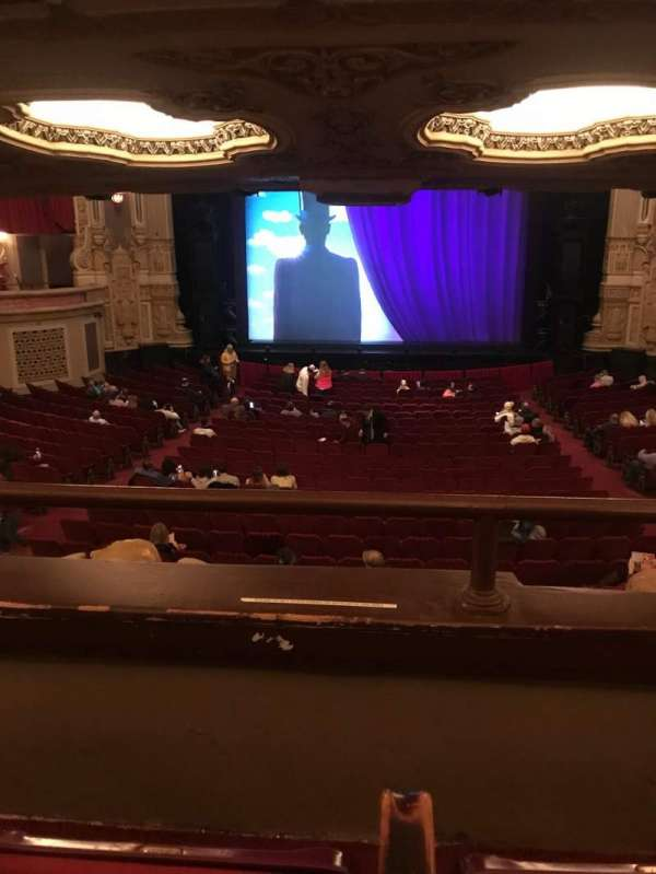 Oriental Theatre, section: DCIR-C, row: B, seat: 207