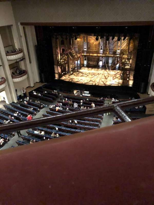 Belk Theater, section: Balcony Right, row: A, seat: 109