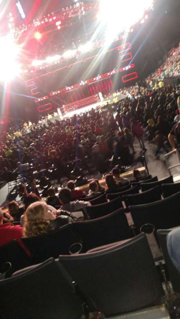 Week raw, section: 101, row: Ll, seat: 3