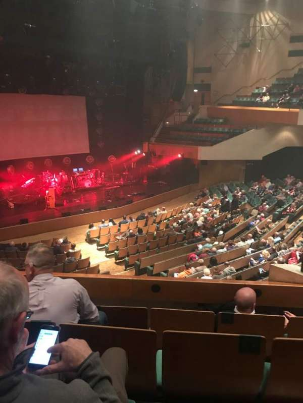 St David's Hall, section: Tier 2, row: D, seat: 9