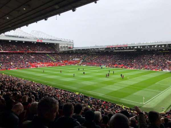 Old Trafford, section: N2412, row: 22, seat: 44