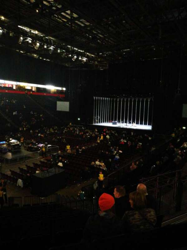 Manchester arena, section: 111, row: Q, seat: 10