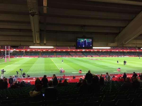 Principality Stadium, section: L11, row: 29, seat: 6