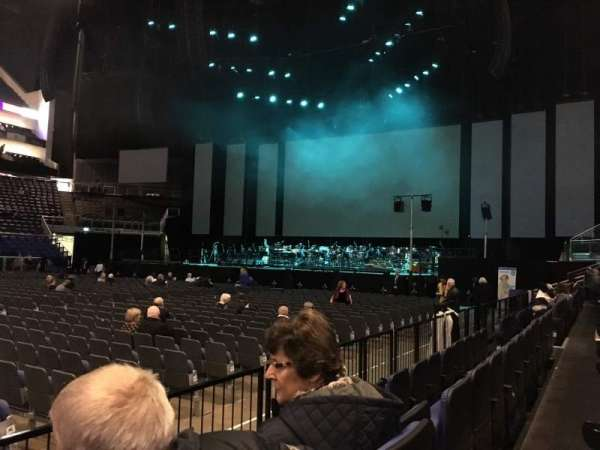 The O2 Arena, section: 111, row: C, seat: 343
