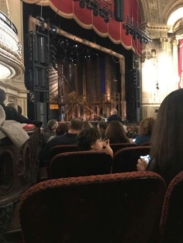 Boston Opera House, section: Orchestra Left, row: L, seat: 41
