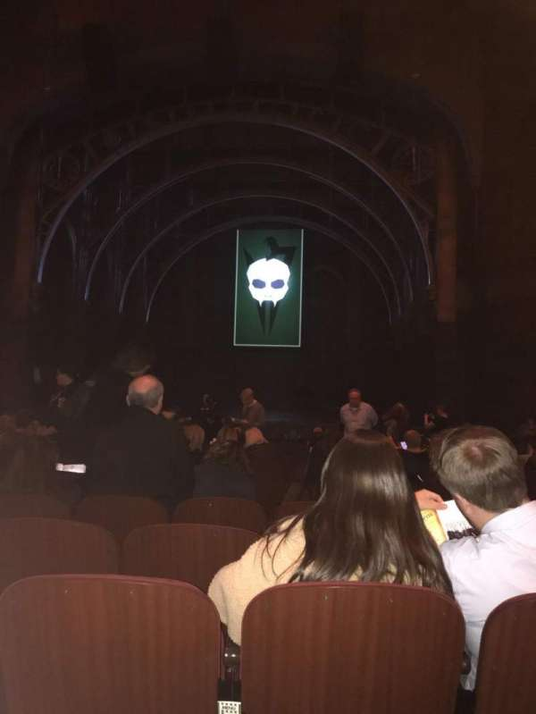 Lyric Theatre, section: Orchestra Right, row: O, seat: 10