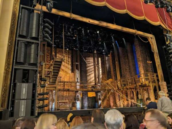 Boston Opera House, section: orchlc, row: c, seat: 13