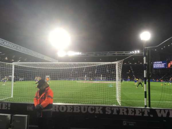 The Hawthorns, section: A6, row: E, seat: 64