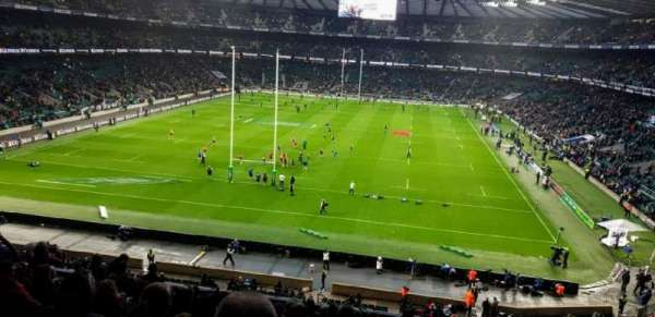 Twickenham Stadium, section: M19, row: 65, seat: 91